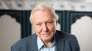 A letter from Sir David Attenborough